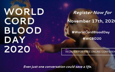 17 de Noviembre, Día Mundial de la Sangre de Cordón Umbilical